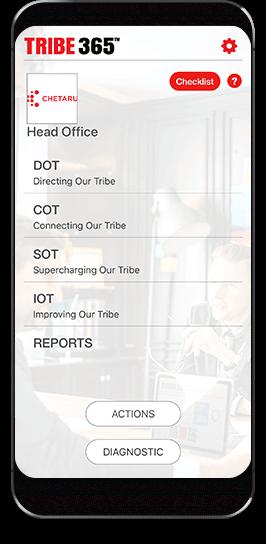 Tribe 365 mobile app